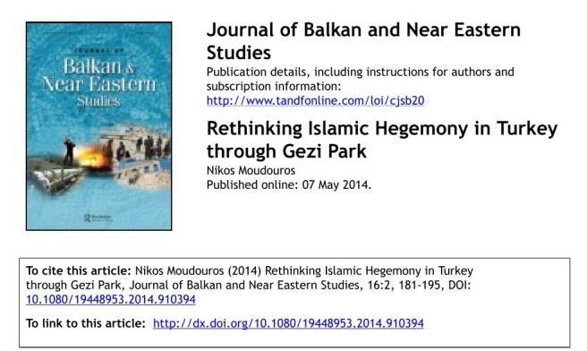 Journal of Balkan and Near Eastern Studies