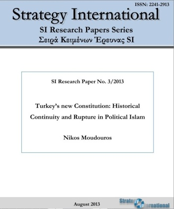 Turkey's New Constitution: Historical Continuity and Rupture in Political Islam. August 2013